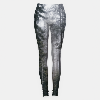 Thumbnail image of Into the forest we go Leggings, Live Heroes