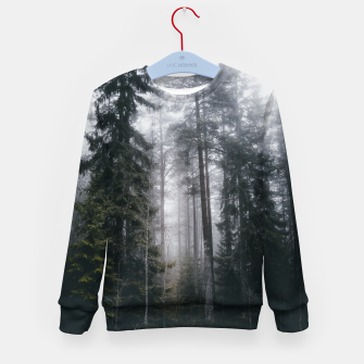 Thumbnail image of Into the forest we go Kid's sweater, Live Heroes