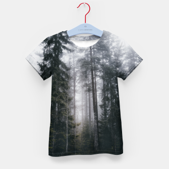 Thumbnail image of Into the forest we go Kid's t-shirt, Live Heroes