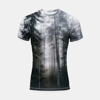 Thumbnail image of Into the forest we go Shortsleeve rashguard, Live Heroes