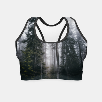 Thumbnail image of Into the forest we go Crop Top, Live Heroes