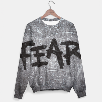 Thumbnail image of fear Cotton sweater, Live Heroes