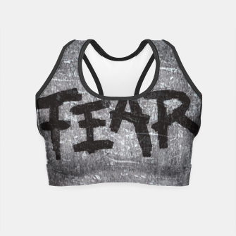 Thumbnail image of fear Crop Top, Live Heroes