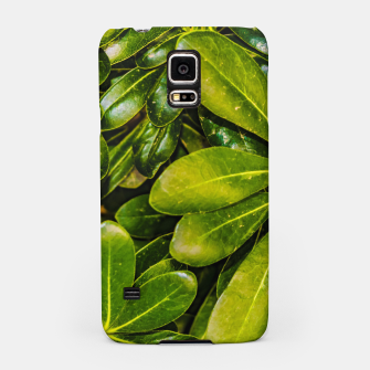 Thumbnail image of Top View Leaves Photo Samsung Case, Live Heroes