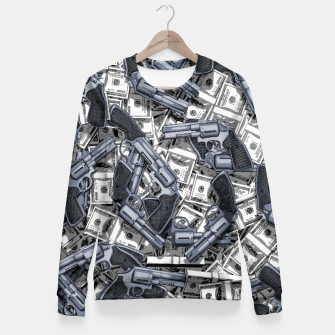 Thumbnail image of Daylight Robbery Woman cotton sweater, Live Heroes