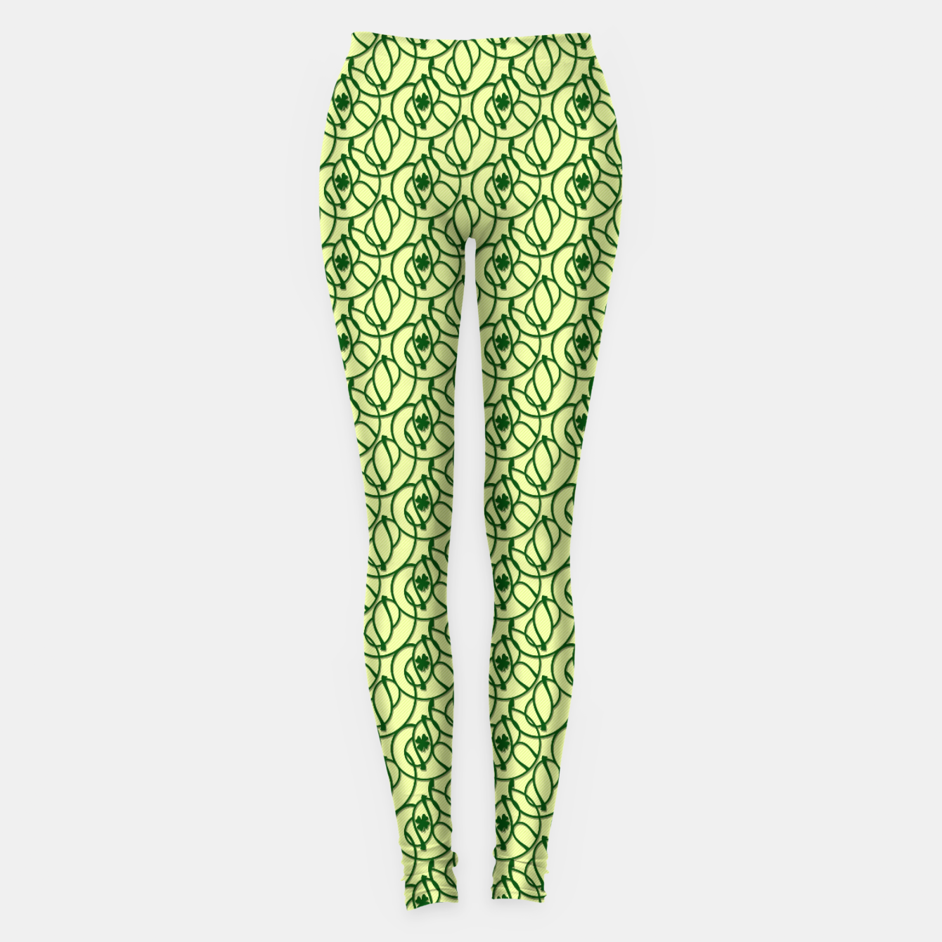 Image of St. Patrick's Day Clovers Leggings - Live Heroes