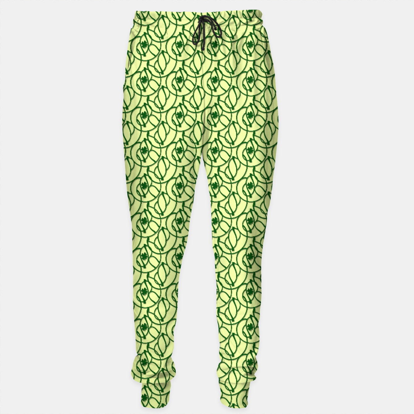 Image of St. Patrick's Day Clovers Cotton sweatpants - Live Heroes
