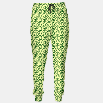 Thumbnail image of St. Patrick's Day Clovers Cotton sweatpants, Live Heroes