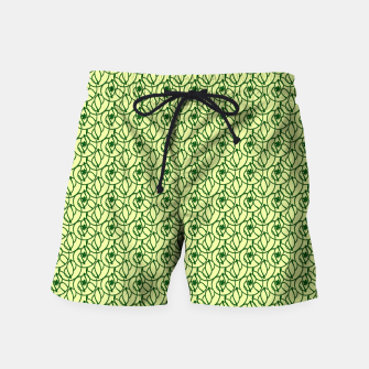 Thumbnail image of St. Patrick's Day Clovers Swim Shorts, Live Heroes