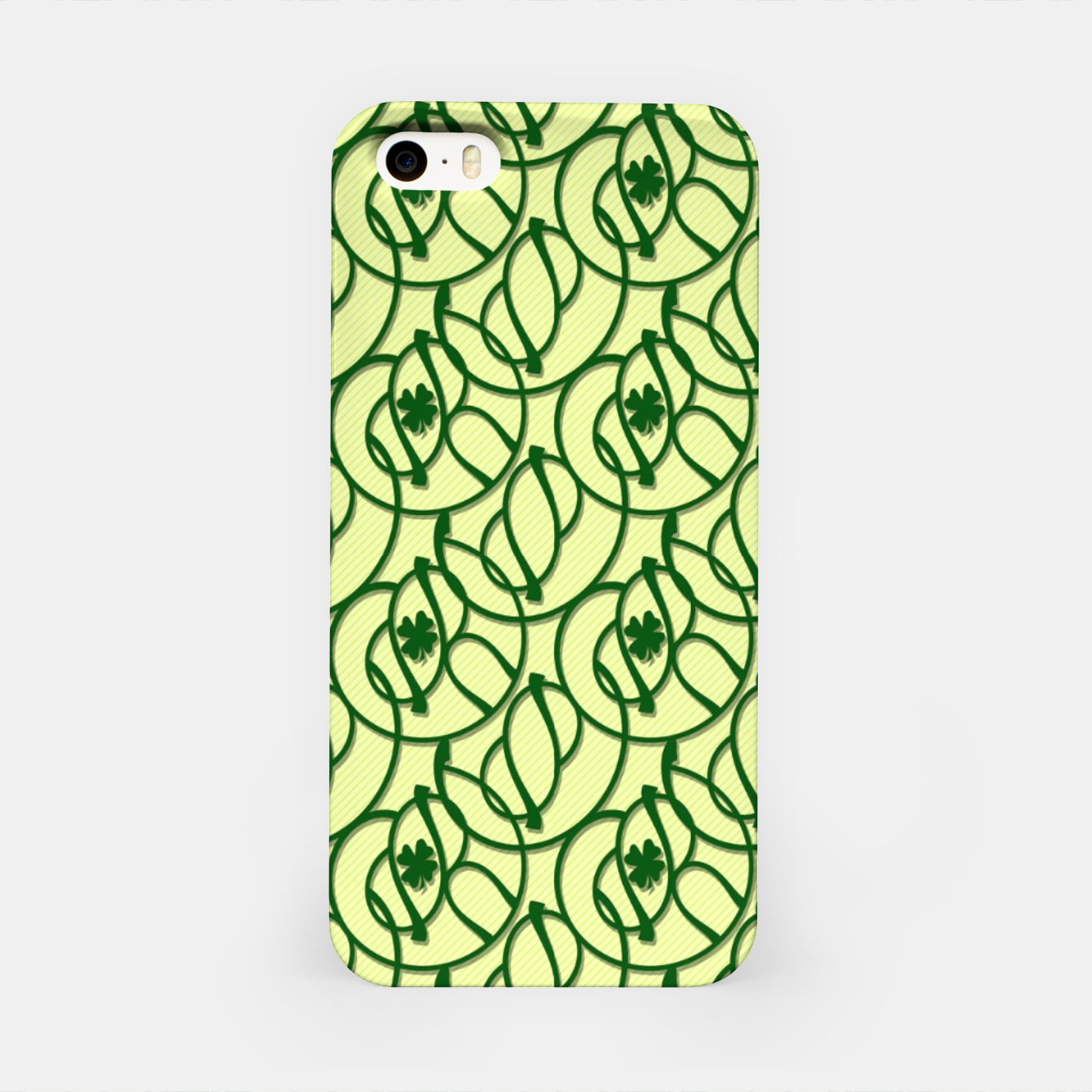 Image of St. Patrick's Day Clovers iPhone Case - Live Heroes