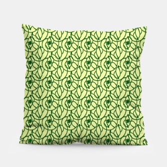 St. Patrick's Day Clovers Pillow thumbnail image