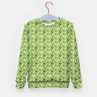 St. Patrick's Day Clovers Kid's sweater thumbnail image