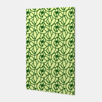 St. Patrick's Day Clovers Canvas thumbnail image