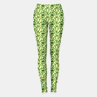 St. Patrick's Day Clovers Leggings thumbnail image