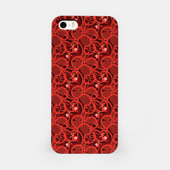 Thumbnail image of Cherry Tomato Red Hearts  iPhone Case, Live Heroes