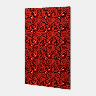Cherry Tomato Red Hearts  Canvas thumbnail image