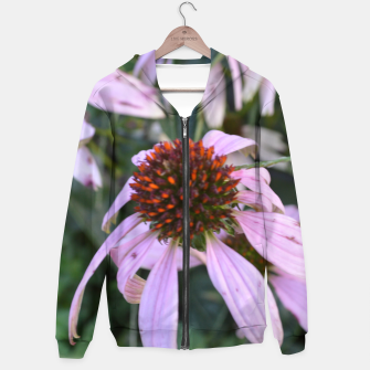 Thumbnail image of Coneflower Abstract Hoodie, Live Heroes