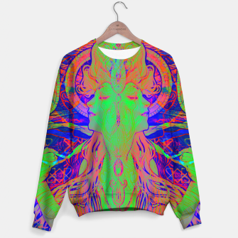 Thumbnail image of Alphonse Mucha Remixed 02 Cotton sweater, Live Heroes
