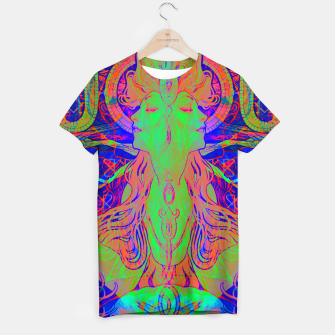 Thumbnail image of Alphonse Mucha Remixed 02 T-shirt, Live Heroes