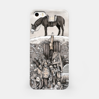 Miniature de image de World War 1 soldiers in a battlefield trench Obudowa iPhone, Live Heroes