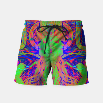 Thumbnail image of Alphonse Mucha Remixed 02 Swim Shorts, Live Heroes