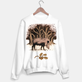 Miniature de image de Wild boar, wild boar on the grass, illustration Bluza standard, Live Heroes