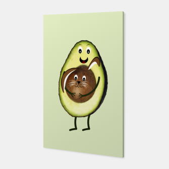 Thumbnail image of Easter Avocado Canvas, Live Heroes