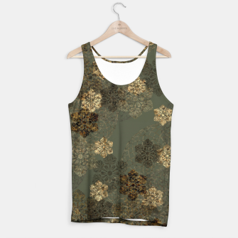 Thumbnail image of Japanese emblem art vintage green gold Tank Top, Live Heroes