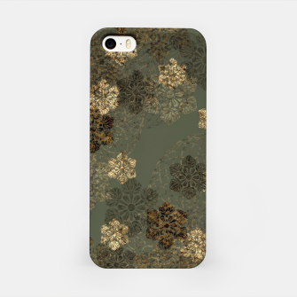 Thumbnail image of Japanese emblem art vintage green gold iPhone Case, Live Heroes