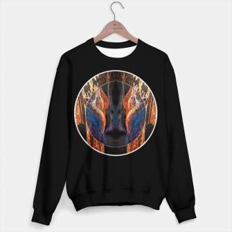 Thumbnail image of forest visions Cotton sweater, Live Heroes