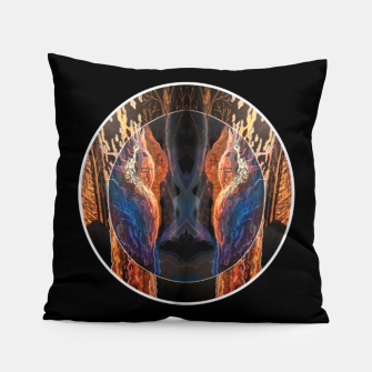 Thumbnail image of forest visions Pillow, Live Heroes