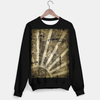 Thumbnail image of grungy sunrise Sweater regular, Live Heroes