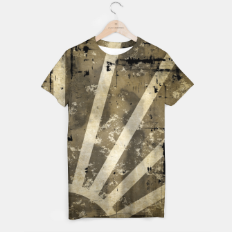 Thumbnail image of grungy sunrise T-shirt, Live Heroes