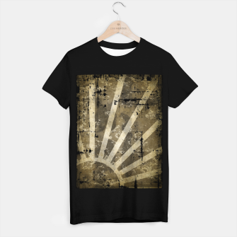 Thumbnail image of grungy sunrise T-shirt regular, Live Heroes