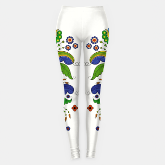 Thumbnail image of Folklore Floral Tapestry - Leggings, Live Heroes