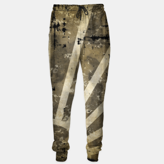 Thumbnail image of grungy sunrise Cotton sweatpants, Live Heroes