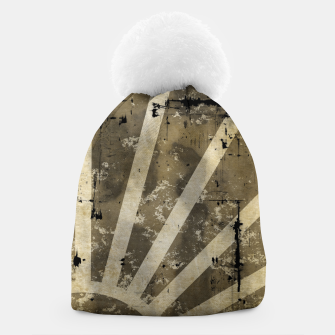 Thumbnail image of grungy sunrise Beanie, Live Heroes