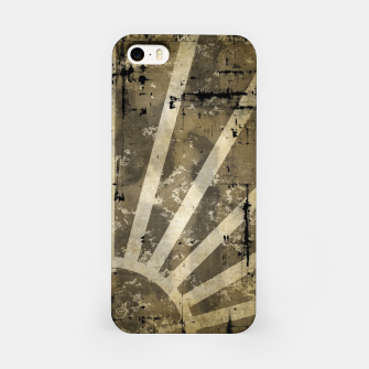 Thumbnail image of grungy sunrise iPhone Case, Live Heroes