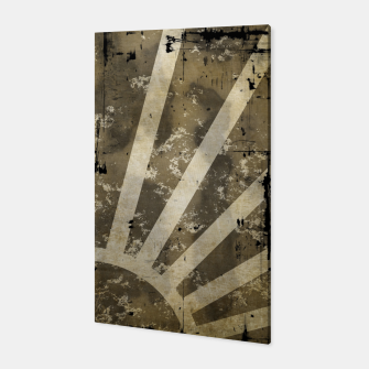 Thumbnail image of grungy sunrise Canvas, Live Heroes