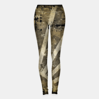Thumbnail image of grungy sunrise Leggings, Live Heroes