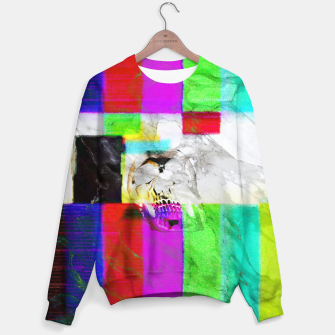 Thumbnail image of vhskull Cotton sweater, Live Heroes