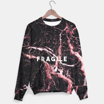 Thumbnail image of fragile bleed Cotton sweater, Live Heroes