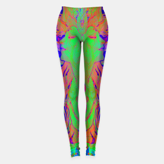 Thumbnail image of Alphonse Mucha Remixed 02 Leggings, Live Heroes