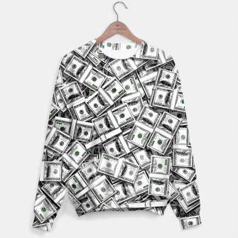 Thumbnail image of Like a Million Dollars Cotton sweater, Live Heroes