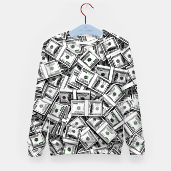 Thumbnail image of Like a Million Dollars Kid's sweater, Live Heroes