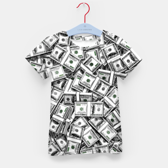 Thumbnail image of Like a Million Dollars Kid's t-shirt, Live Heroes