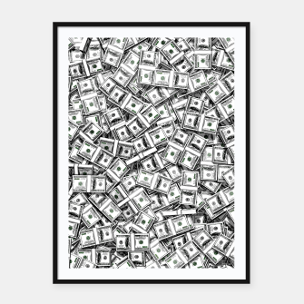 Thumbnail image of Like a Million Dollars Framed poster, Live Heroes