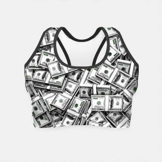 Thumbnail image of Like a Million Dollars Crop Top, Live Heroes