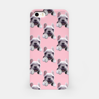 Thumbnail image of French Bulldog iPhone Case, Live Heroes