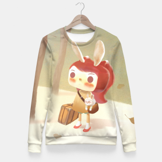 Thumbnail image of Lost Woman cotton sweater, Live Heroes